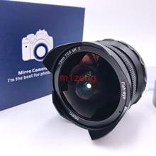 Objectif de film Fisheye 7.5mm F2.8 grand Angle pour Sony a7 a9 A6500 A7R fuji xt20 xe3 xa2 m43 em1 em5 gh5 gf6 canon eosm