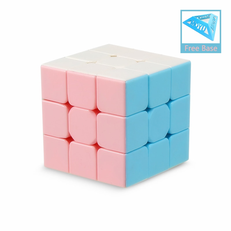 new 3x3 torsion magic cube magnetique coloful twisted cube puzzle toy stickerless puzzles colorful educational toy bandaged cube Dropshipping MOYU Meilong Macarons Magic Cube 2x2 3x3 Pyraminxed Magic Cube 3x3x3 speed cube Stickerless Professional Puzzle Toy
