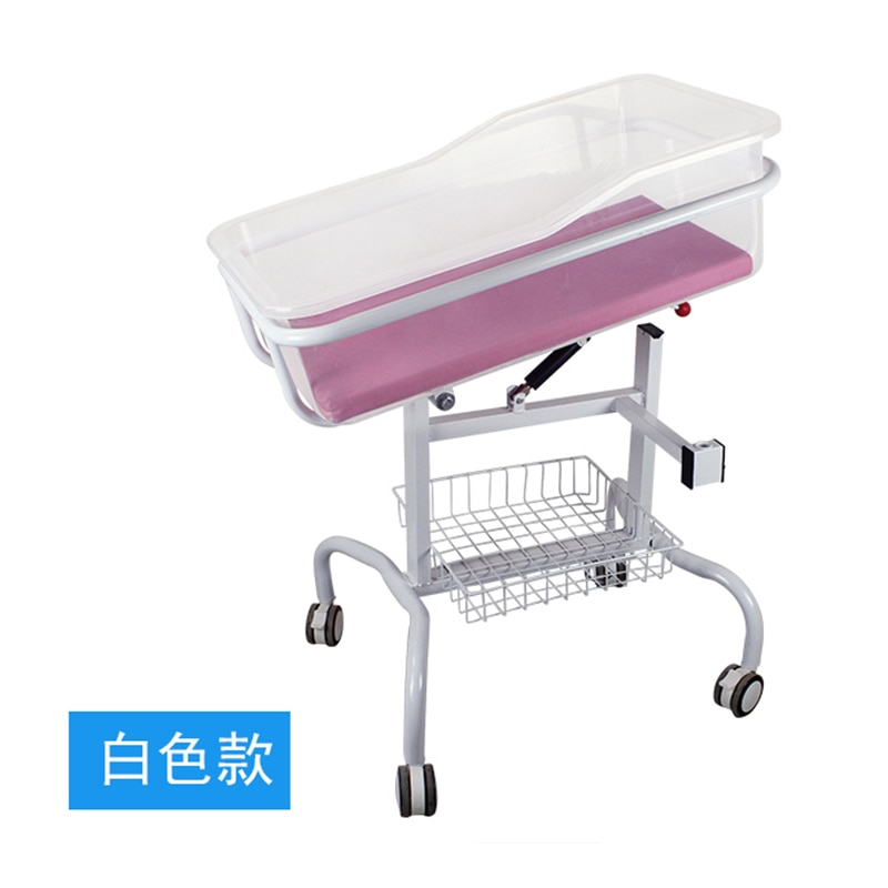 083hospital baby medical crib driver cart bed yuezi center clubhouse abs transparent care bed newborn