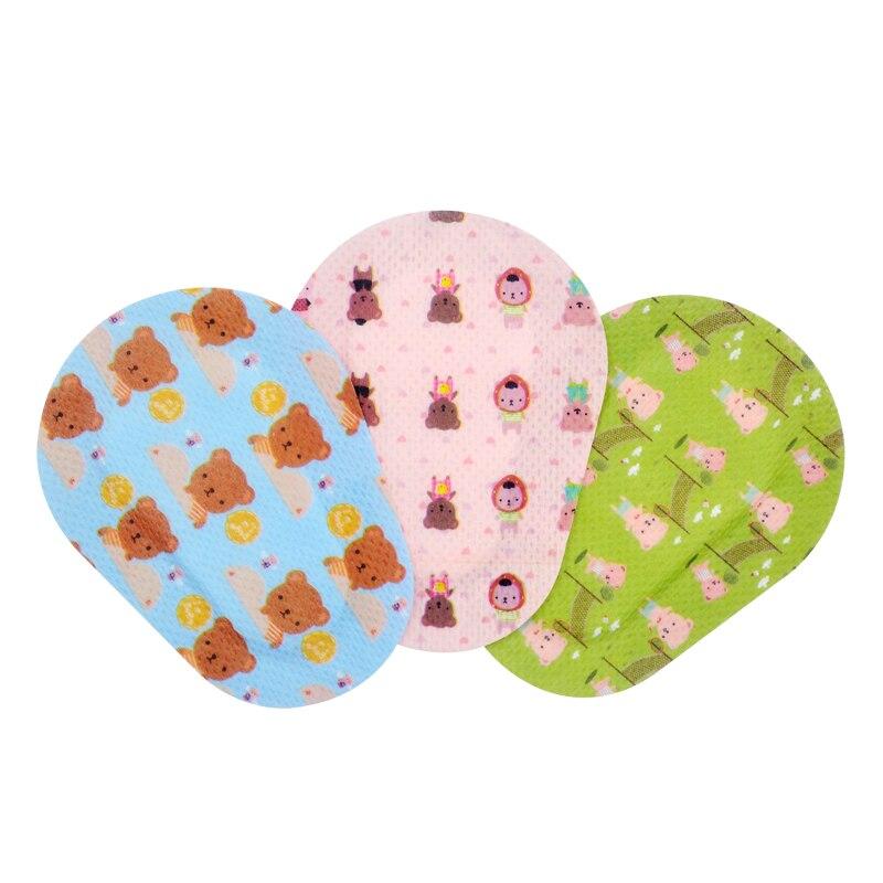 Bonitos parches adhesivos para ojos vendaje para niños niñas niños con 3 diseños diferentes para ambliopía, ojo perezoso (60)
