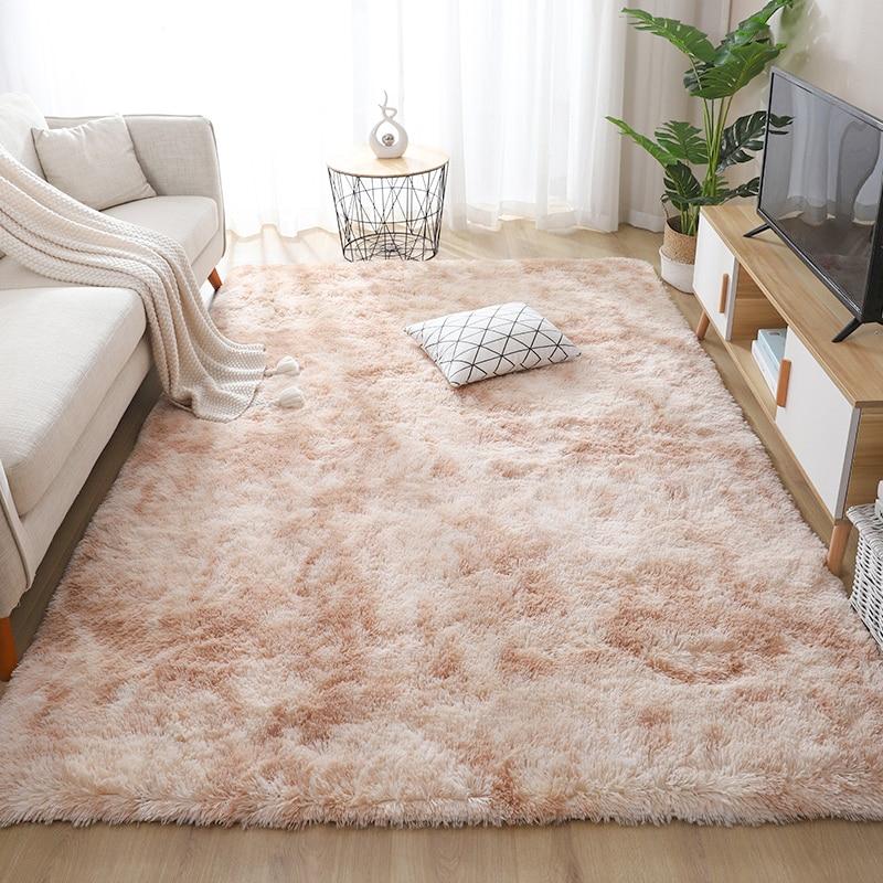 AliExpress - Topfinel Carpets for Living Room Rug Bedroom Decor Carpet Simple Moder Area Rugs Home Fluffy Thicken Mat Long Soft Velvet Mats
