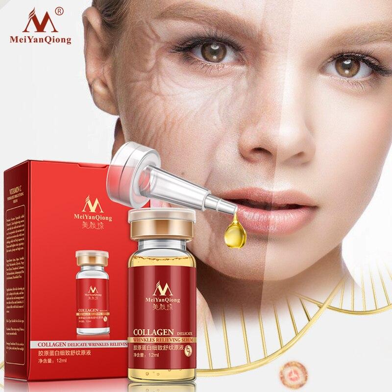 Collagen aloe vera+collagen rejuvenation anti wrinkle Serum for the face skin care products anti-agi