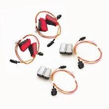 Faisceau de câbles de voiture, pour A3 A4 B8 A5 s6 C7 A7 A8 Q3 Q5 TT, panneau davertissement de porte rouge/blanc, Indication de sécurité, lampe Signal