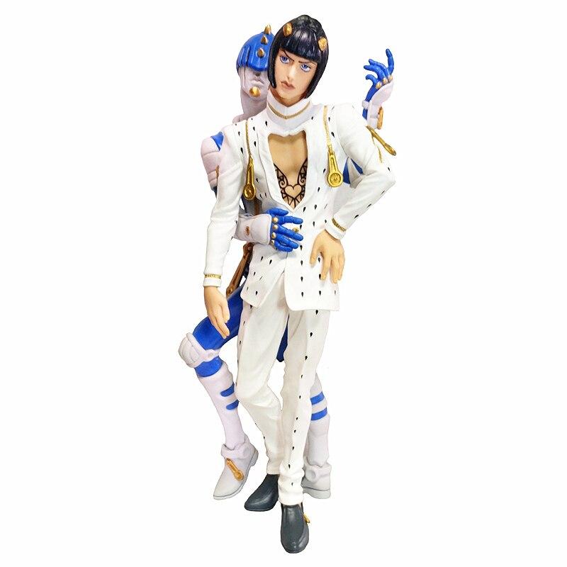 مجسم حركة أنيمي ياباني أصلي JoJos Bizarre Adventure Bruno Bucciarati ، ألعاب نموذجية قابلة للجمع للأولاد
