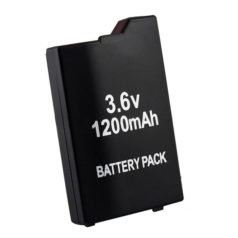 Новый Сменный аккумулятор 1200 мАч для Sony PSP2000 PSP3000 PSP 2000 3000 PSP S110 геймпад для PlayStation Портативный Контроллер 4pcs 3 6v 2400mah psp 2000 batteries for sony psp2000 psp3000 console