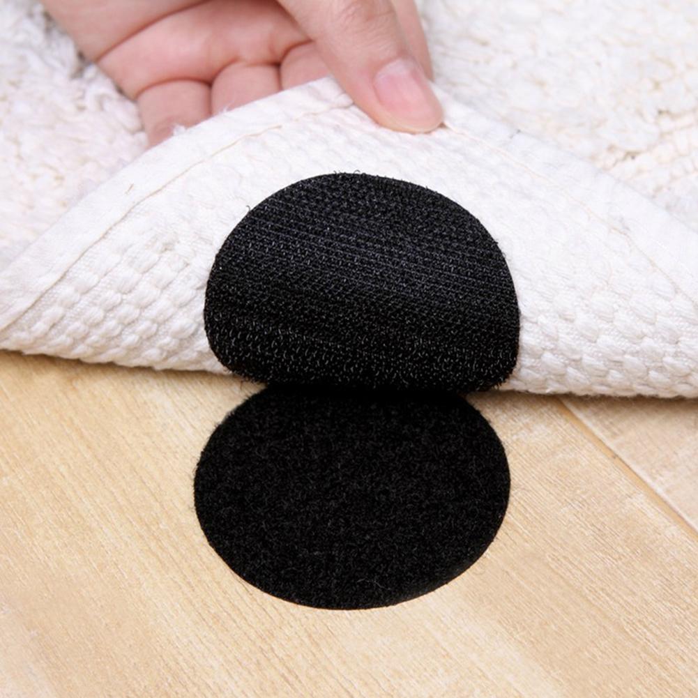5 pçs fita autoadesiva pontos 6cm sem emenda dupla face fixa pasta folhas toalha de mesa sofá tapete móveis fitas mágicas