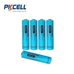 Pkcell botão superior aaa icr10440 3.7v liion bateria de lítio recarregável 10440 para farol mod mecânico tocha farol vap