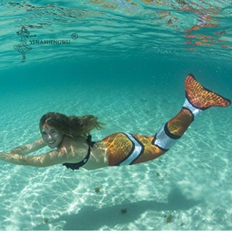 فتاة تأثيري المايوه حورية البحر ذيل 2 قطعة Monofin بيكيني للشاطئ الزعنفة الأطفال السباحة زي ملابس السباحة Swimmable ملابس السباحة مجموعات