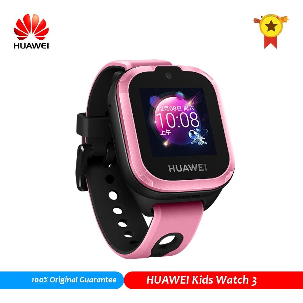Reloj inteligente HuaWei Kids 3, reloj inteligente compatible con emergencias SOS, GSM/GPRS(2G) Lte, reloj inteligente para niños, Android, IOS, 0,3 MP