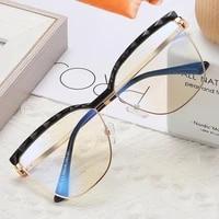 tr90 diamond cat eye anti blue light glasses frame women spring leg optical fashion computer eyeglasses