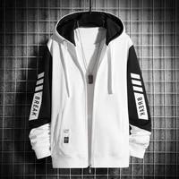 2021 spring autumn mens sweatshirt casual hip hop streetwear loose hoodies new men fashion personality hoodie patchwork tops