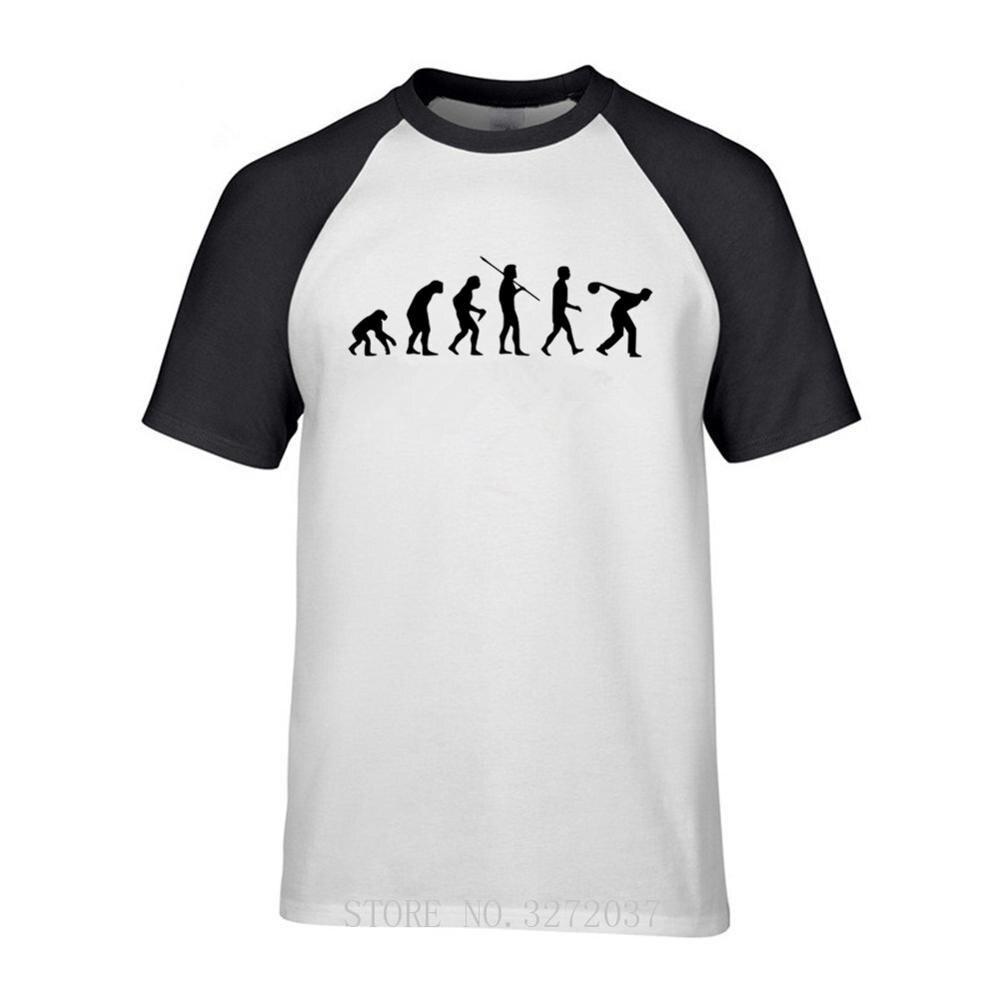 Evolução de Boliche tigelas Austrália clube 100% Algodão Masculina T-SHIRT tee de manga curta camisa o-pescoço t