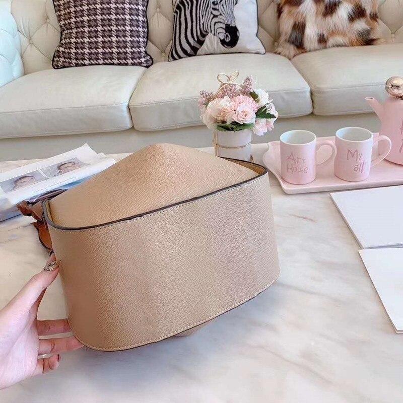 Sasa-حقيبة كتف كبيرة للنساء ، حقيبة كتف كبيرة السعة ، حقيبة حمل صغيرة بنية اللون ، مجموعة جديدة 2021