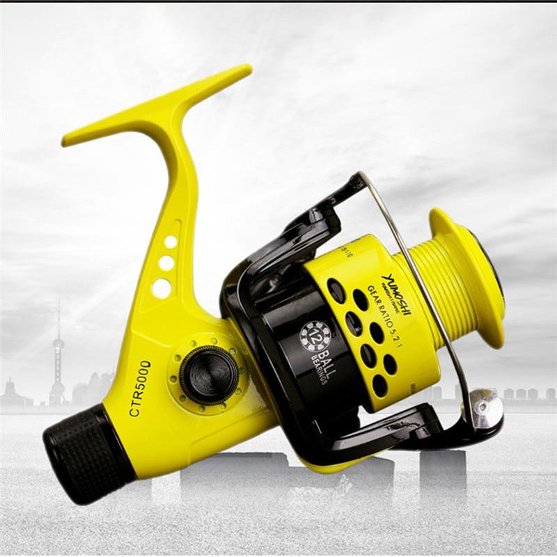 YUMOSHI 12BB CTR2000-7000 5,5 1 Рыболовная катушка складная рука коромысло Катушка для спиннинга легкая задняя катушка рыболовные спиннинговые колеса