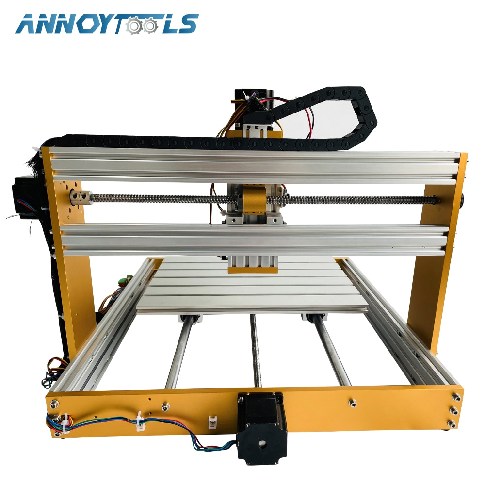CNC 3040 Wood Router 3 Axis Engraving Carving Laser/Spindle 2 in 1 Milling Machine Equip with New Multifunction GRBL Control Box enlarge