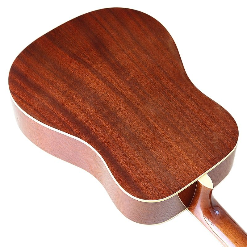 Natural Color 12 Strings 41 Inch Acoustic Guitar Solid Spruce Top Full Size Design High Gloss Finish 20 Frets with Small Flaw enlarge