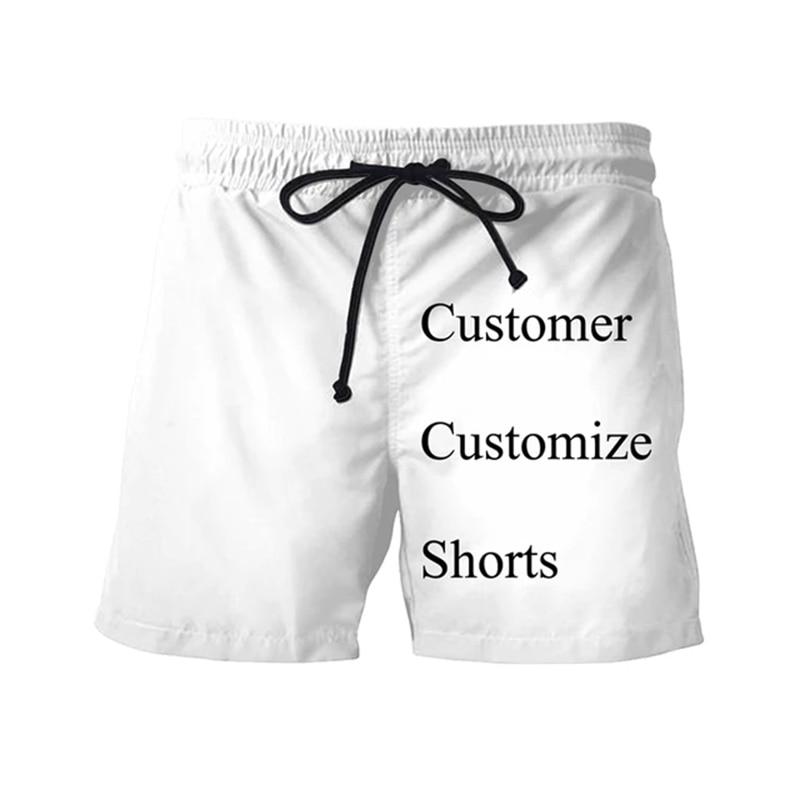 Мужская Новая футболка-шорты с 3D принтом на заказ, прямые продажи с завода, женская футболка с 3D принтом на заказ, Мужская футболка