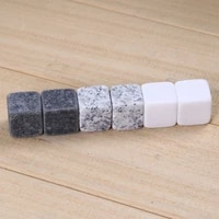 6pcs natural whiskey stones rock ice stone sipping whisky alcohol cooler wedding favor gifts christmas bar accessories