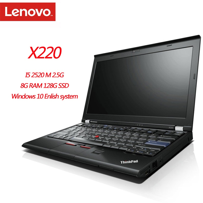 Promo 95New Lenovo ThinkPad X220 Notebook Computers 8GB Ram Laptop 1280×800 12 Inches Win10 English System Diagnosis Pc Tablet