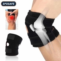1pc fitness knee support patella belt elastic bandage tape sport strap knee pads protector band for knee brace outdoor sports