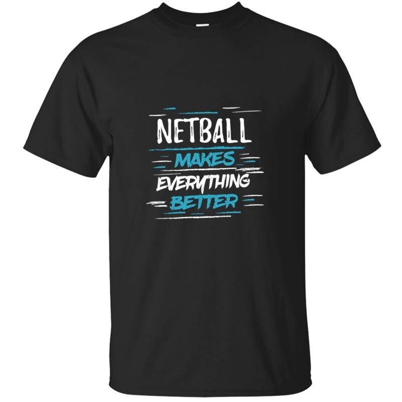 Recién llegado, Cool Netball Player, regalos humorísticos, camiseta de equipo, caballeros, Unisex, hombres, camisetas de cuello redondo, camiseta, ropa, camiseta, Top