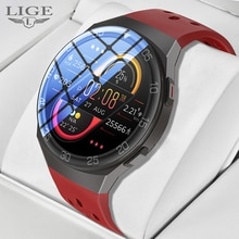LIGE 2021 New Smart Watch donna uomo Activity Tracker frequenza cardiaca Smartwatch da donna impermeabile per Android IOS