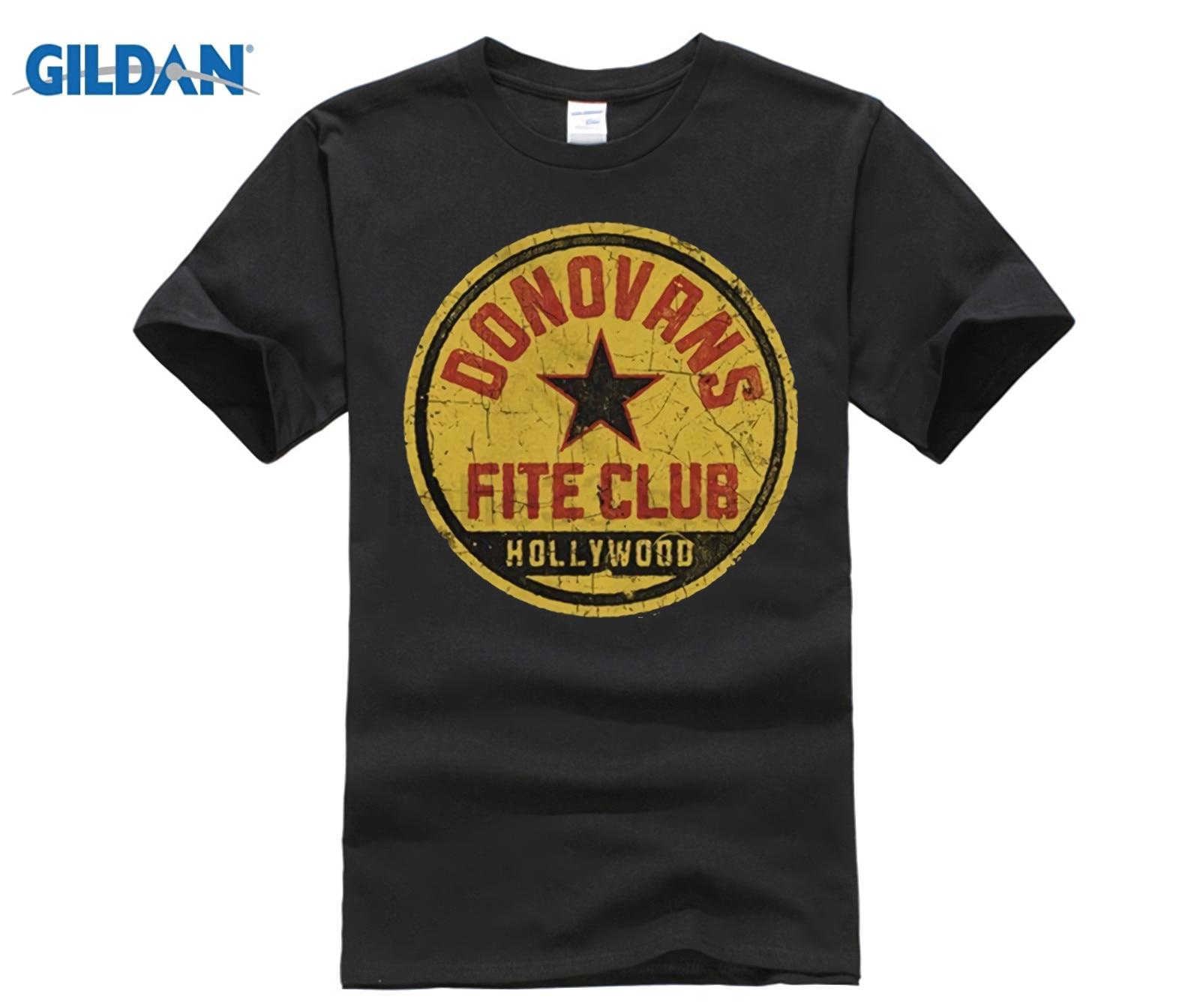 Pantalón corto Casual de manga corta Tee Ray Donovan Fite Club adulto Slim Fit camiseta 016086