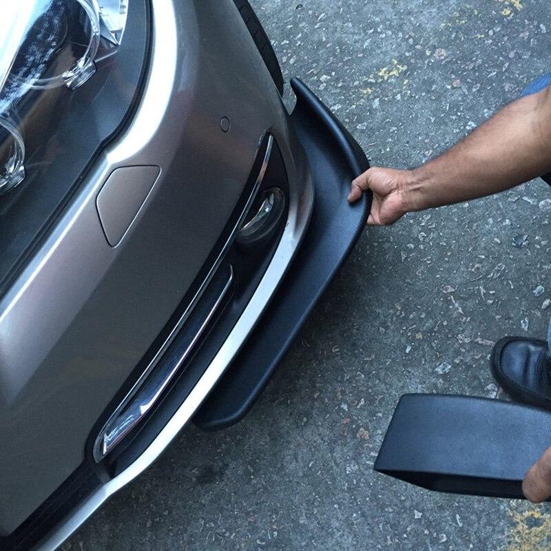 Frente del coche Deflector parachoques Spoiler del divisor del difusor pala para Kia eco Pro-cee-d KOUP cee-d Rondo Kue Kee KV7 POP VG