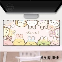 girly kawaii anime sumikkogurashi mousepad cute gaming large 90x40cm genshin impact mousemat gamer xxl pc desk mat keyboard pad