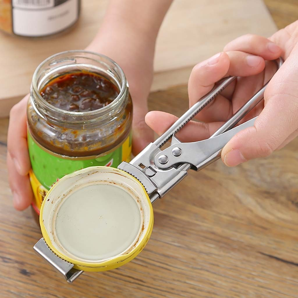 Multifunction Adjustable Stainless Steel Can Opener Manual Jar Bottle Opener