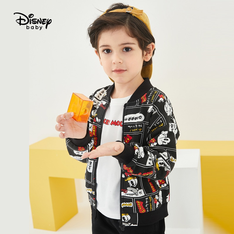 Original Disney Autumn 2020 Boys' Coat Fashion Children's Mickey Cartoon Top Sports Leisure Baby Boy Coat DB031IE14