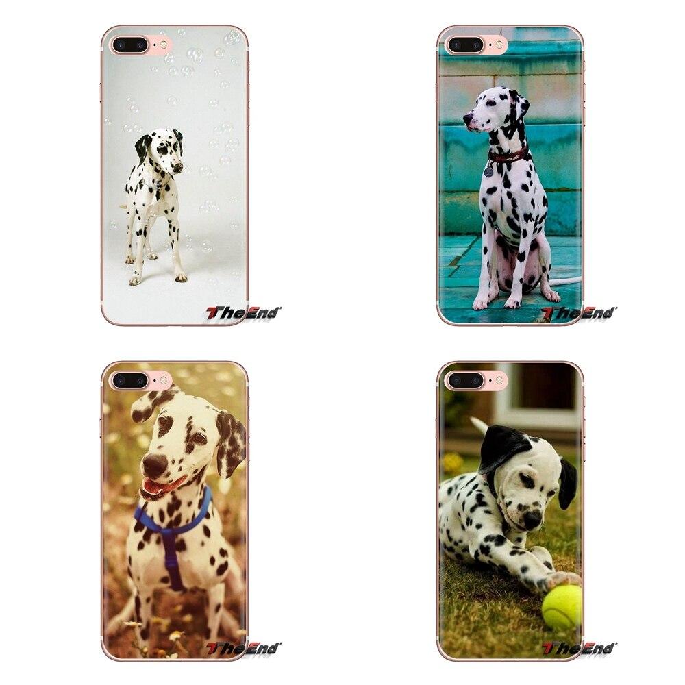 Bebé cachorros dálmatas perro para LG G3 G4 Mini G5 G6 G7 Q6 Q7 Q8 Q9 V10 V20 V30 X Power 2 3 K10 K4 K8 2017 de silicona teléfono caso