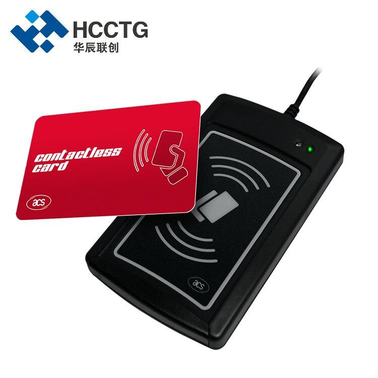 13.56MHz USB تماس HID Uid التحكم في الوصول قارئ بطاقات الذكية للكمبيوتر (ACR1281U-C2)