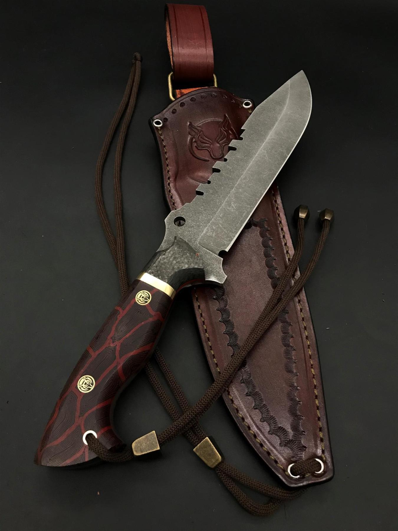 BOHLER N690 Special Design Camping Knife TK15 enlarge