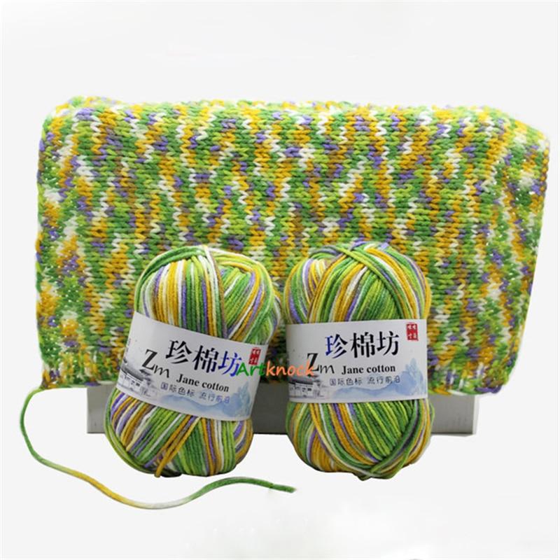 Hilo de tejer para ganchillo, tejido de lana de 4 capas, para...