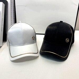 Summer 2021 Korean INS Baseball Cap, Popular Logo Cap Fashion Niche M Standard Thin Sunshade Cap