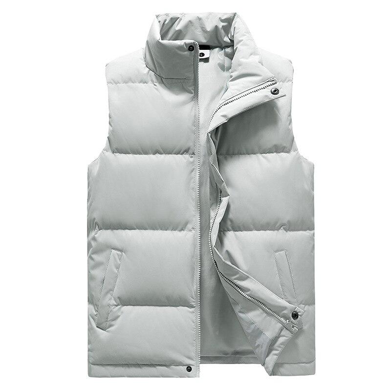 New Autumn Winter Light  down Jacket Mens Vest Celebrity Inspired waistcoat