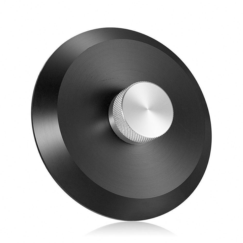 Registro de Pacote – com Ferro High-end Material Vinil Turntables Disco Estabilizador Caixa Braçadeira Peso P2f9 Pom lp