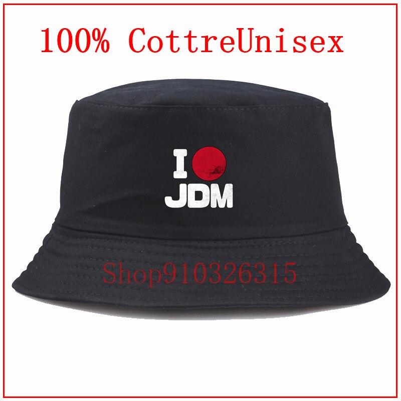 Japón mercado doméstico coches JDM amante blanco Cubo de Panama sombrero hombres mujeres verano cubo pescador de gorra