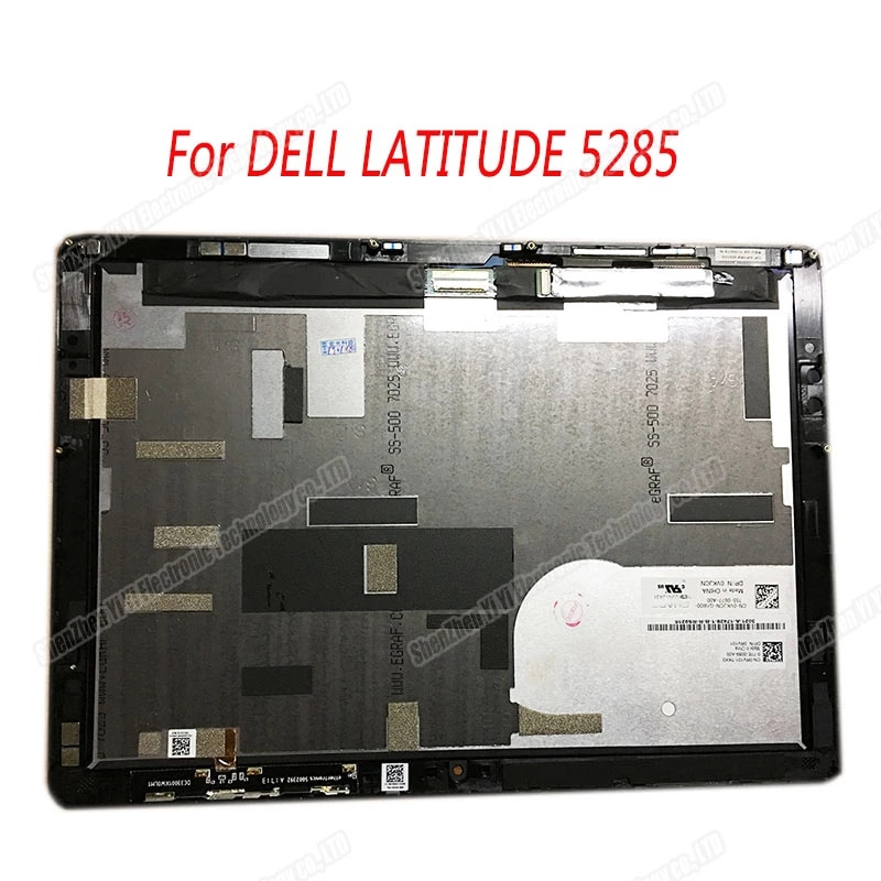 FUR DELL LATITUDE 5285 5290 12 3  1920X1280 LCD TOUCH SCREEN FUR DELL Tragbare computer tablet T17G T17G001