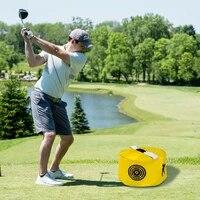 train gesture golf training aids swing trainer bags for power smash hitting waterproof impact