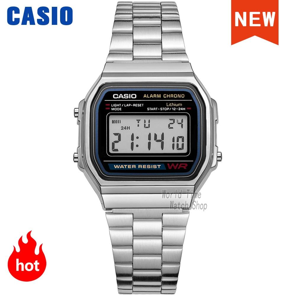 2021Casio watch gold watch men set brand luxury LED digital 30m Waterproof Quartz Sport military Wrist Watch relogio masculino