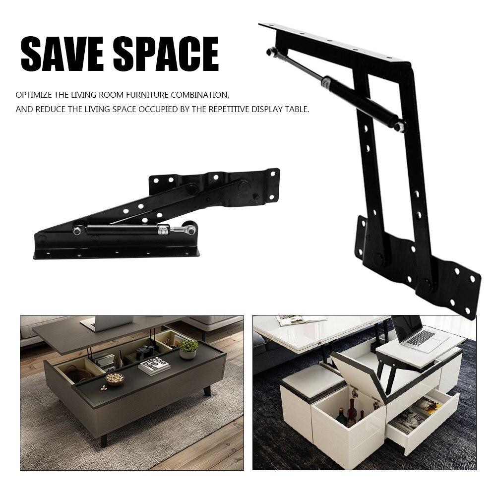 Bisagra plegable de primavera para mesa de té, herramienta de elevación de muebles, herramienta de mecanismo superior, estante de elevación para mesa de té de ordenador de café