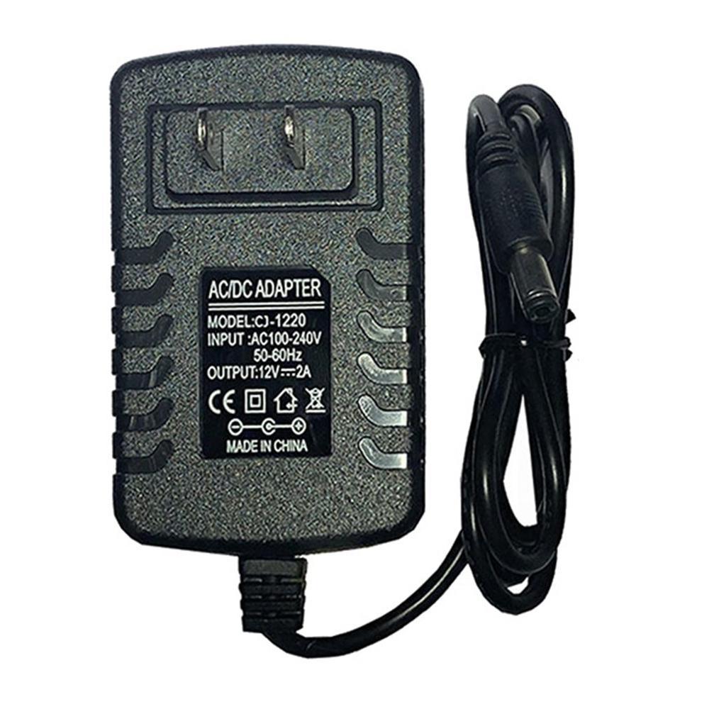 Adaptador de corriente AC 110V/220V a DC 12V transformador de iluminación 2A tira LED adaptador de corriente para CCTV