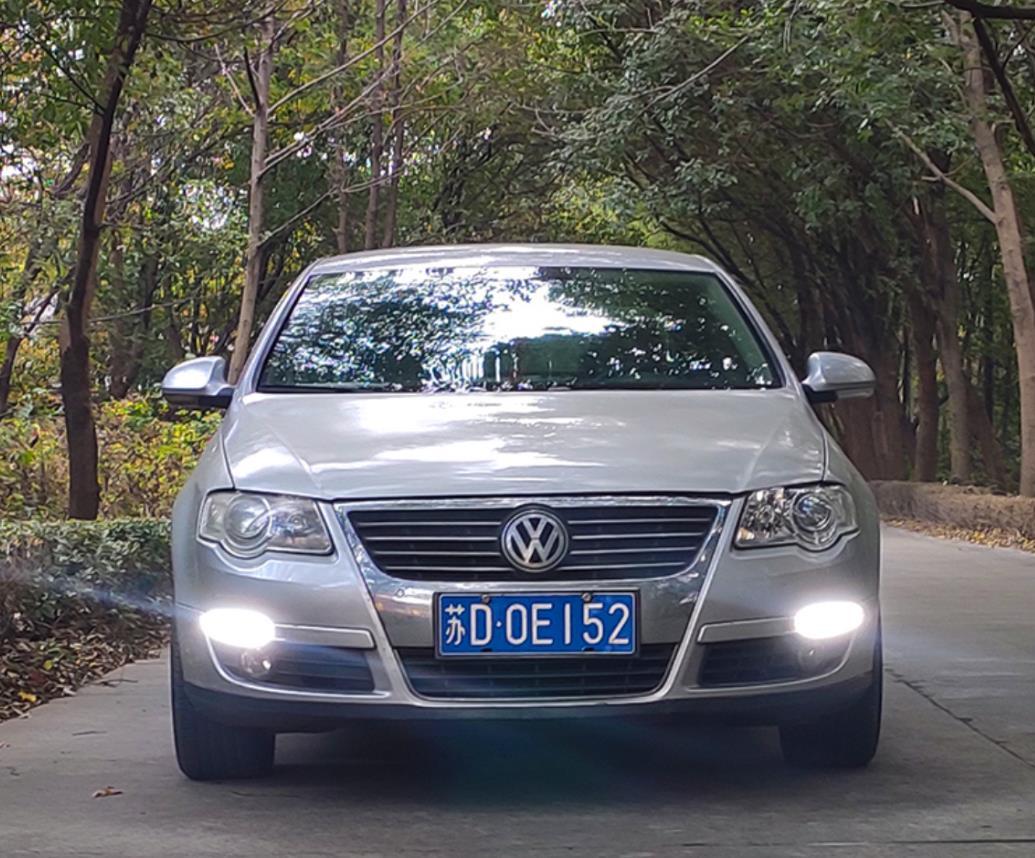 RQXR ل volkswagen VW باسات B6 R36 3C 2006-11 led ضوء الجري النهاري دي أر إل مع غاسل بدوره إشارة المؤشر