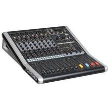 Console de mixage amplificateur de mixage Audio Bluetooth 48V alimentation fantôme karaoké Ktv JP6I