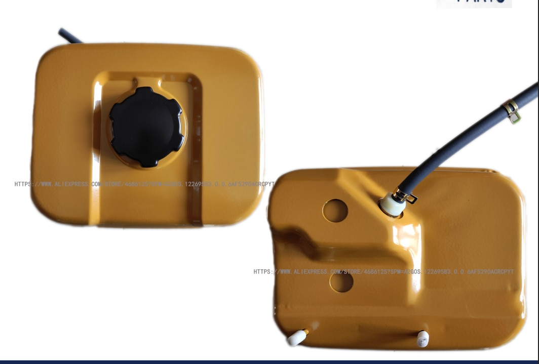 EX17 خزان الوقود الجمعية ل روبن EX17 6HP 169CC 4 السكتة الدماغية غطاء الوقود فلتر مولد أجزاء