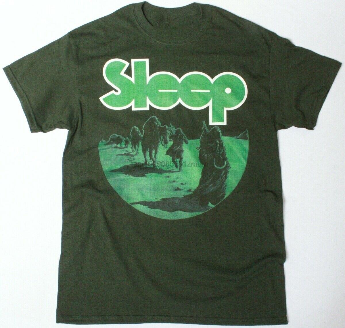Dormir DOPESMOKER camisa DOOM STONER ROCK nueva FODREST verde Camiseta Anime camiseta Feyenoord