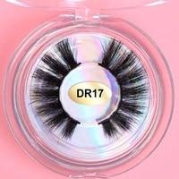 anniepanda makeup eyelashes 3d mink lashes fluffy soft wispy volume natural long cross false eyelashes eye lashes reusable