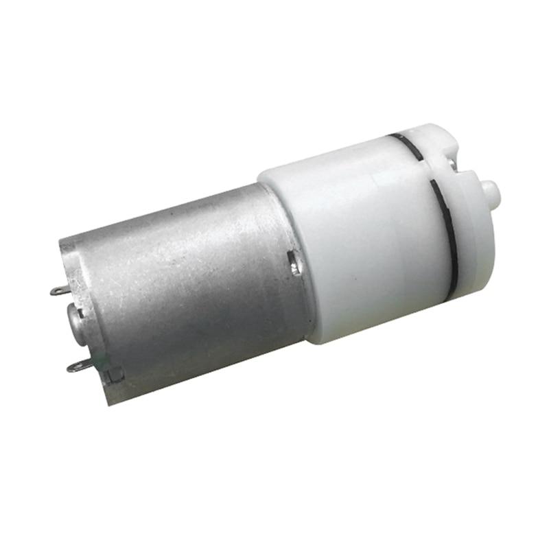 Bomba de aire de acuario 3-12V 65A con accesorios bombas de oxígeno bomba de oxígeno de presión arterial ajustable para pecera